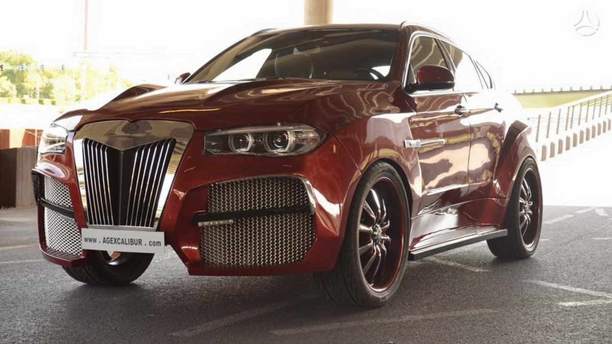 BMW X6 AG Alligator