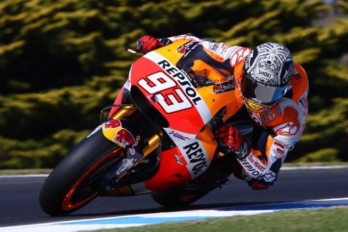 Test Phillip Island MotoGP 2016 (III): Márquez reacciona