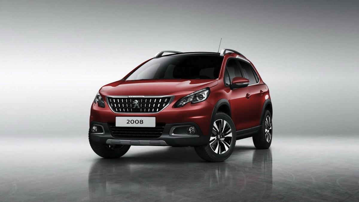 Peugeot 2008 2017 frontal