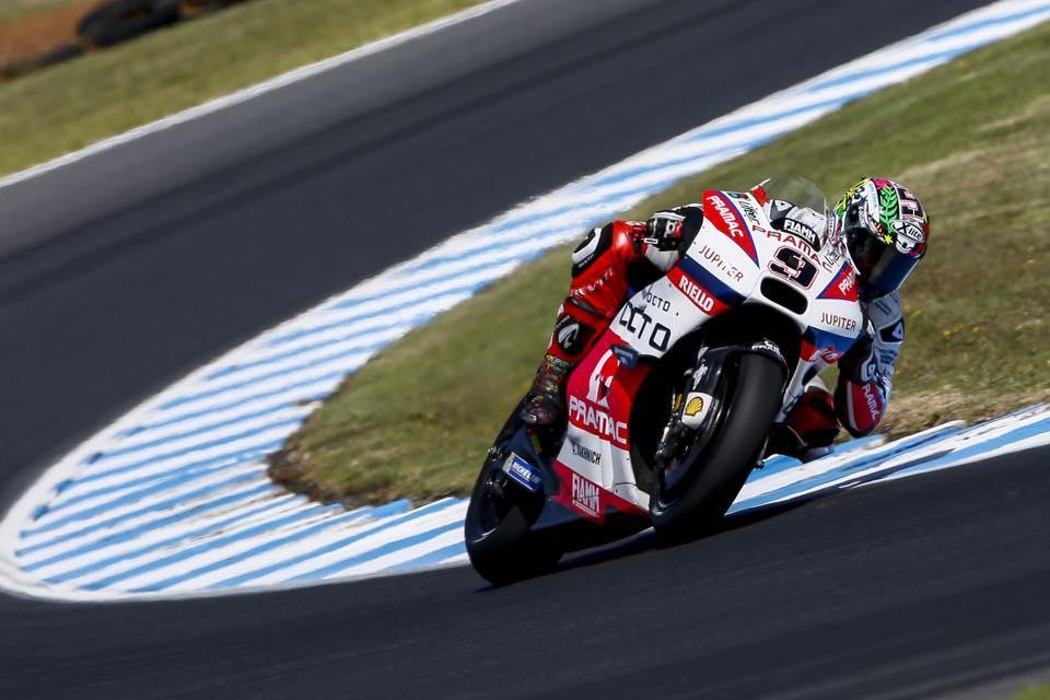 Danilo Petrucci se perderá el Test Qatar MotoGP 2016