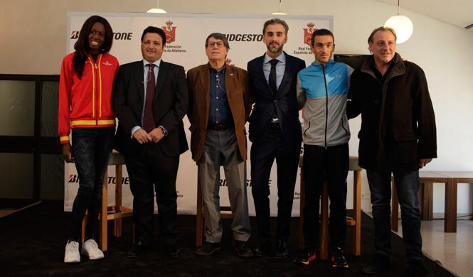 Bridgestone y el atletismo español, juntos hacia la meta