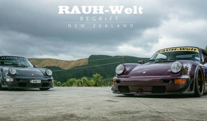 Vídeo: el Porsche 911 RWB levanta pasiones en Nueva Zelanda
