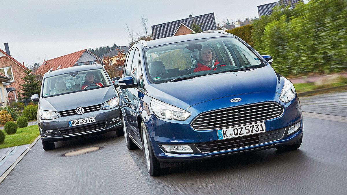 Duelo familiar: Volkswagen Sharan vs Ford Galaxy