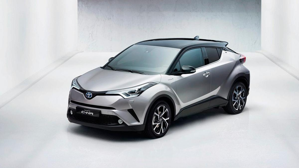 Toyota C-HR, frontal