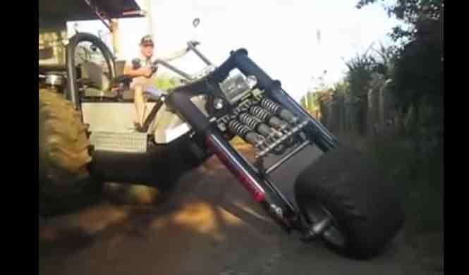 Vídeo: el triciclo tractor más grande del mundo