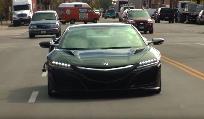 Vídeo: Jay Leno a los mandos del Honda NSX