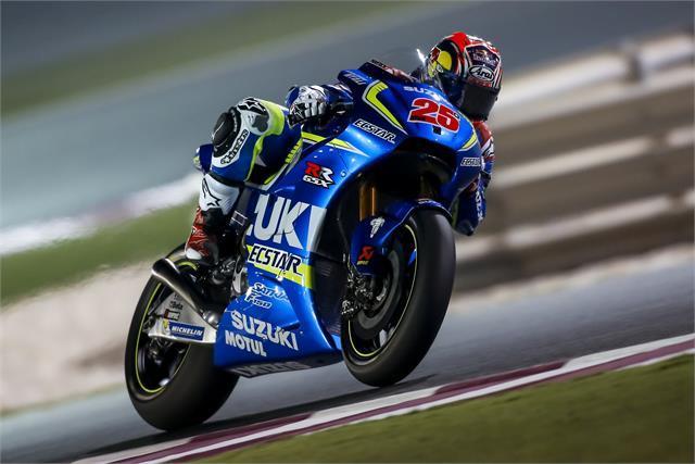 Test Qatar MotoGP 2016 (II): Viñales no teme a nadie