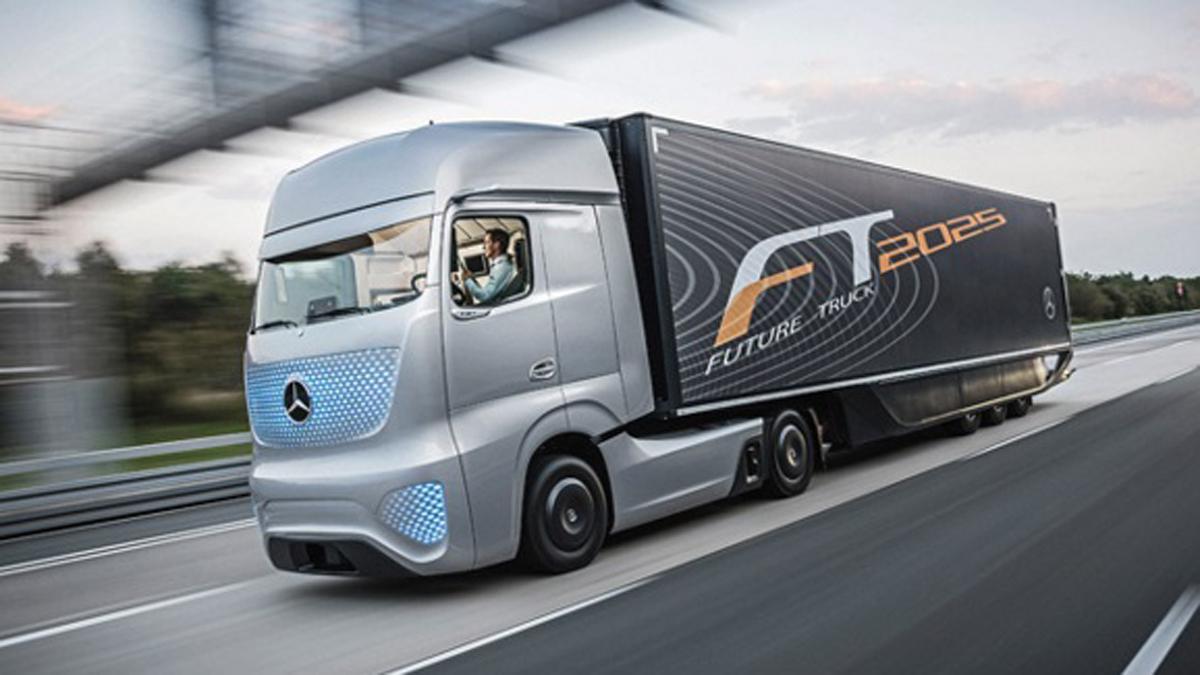 Camiones sin conductor salen a las autopistas británicas