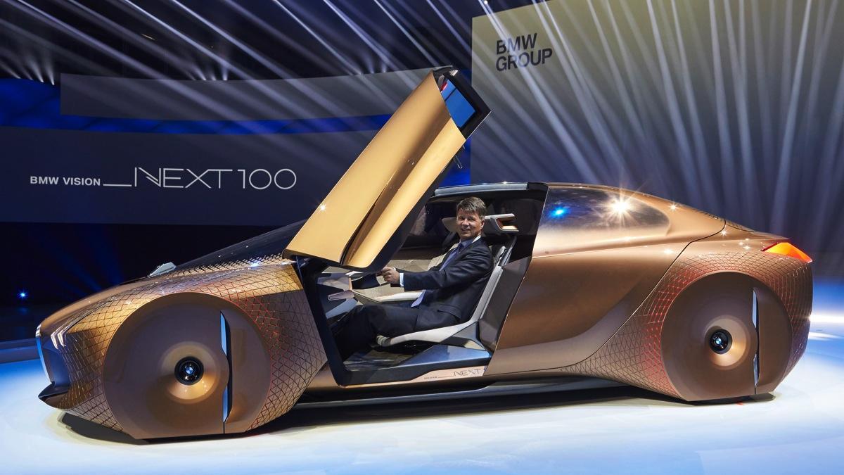 BMW Vision Next 100 puertas