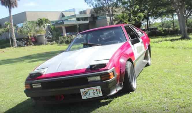 La cultura del motor de Hawaii es bastante llamativa