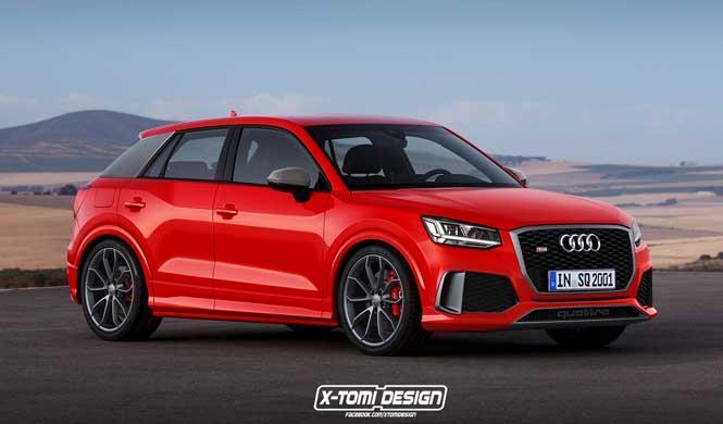 Así podría ser el Audi Q2 RS