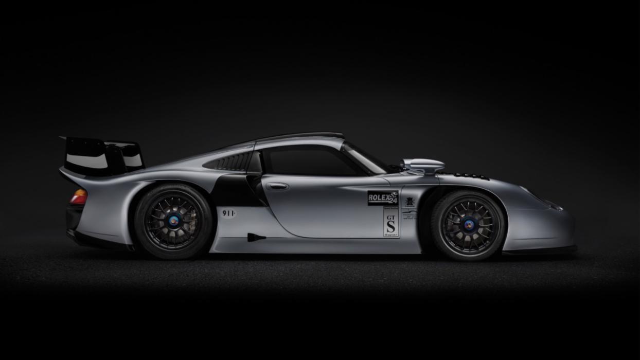 porsche 911 GT1 1997 lateral