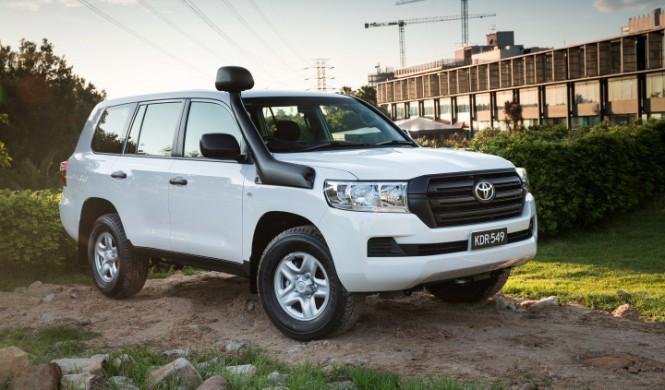 Aquí tienes un Toyota Land Cruiser de verdad