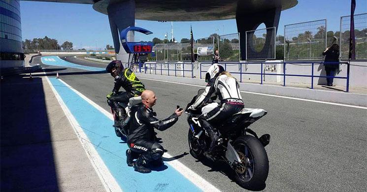 ¡Le pide matrimonio durante una rodada en Jerez!
