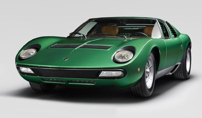 Lamborghini restaura el prototipo del Miura SV de 1971