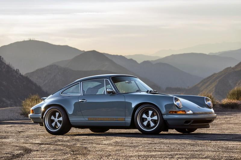 Porsche 911 de Singer Vehicle Design lateral