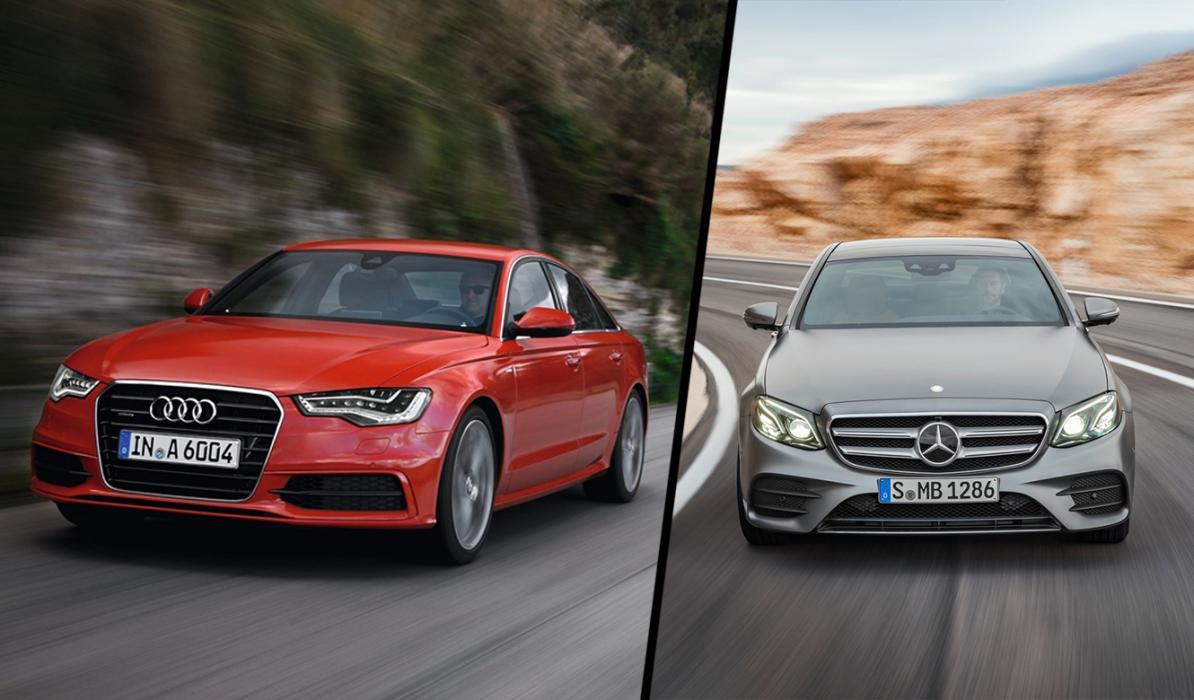 ¿Cuál es mejor, el Mercedes Clase E 2016 o el Audi A6?