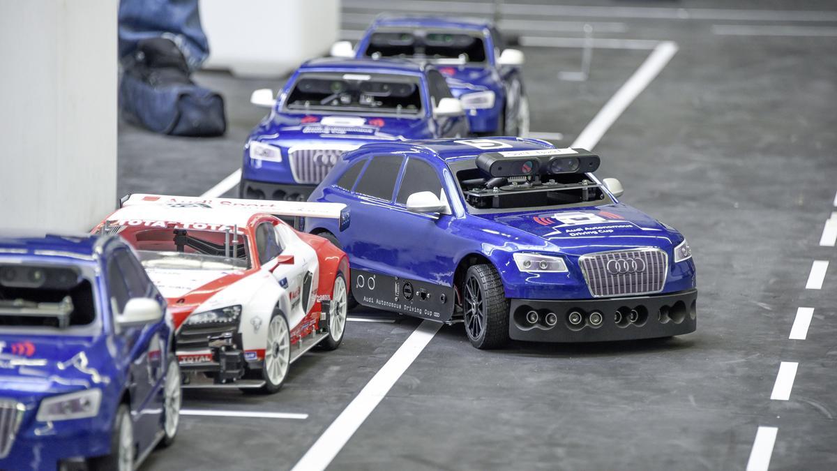 Copa Audi de Conducción Autónoma, un reto a escala 1:8