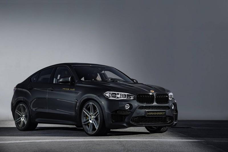 BMW X6 M by Manhart tres cuartos delanteros
