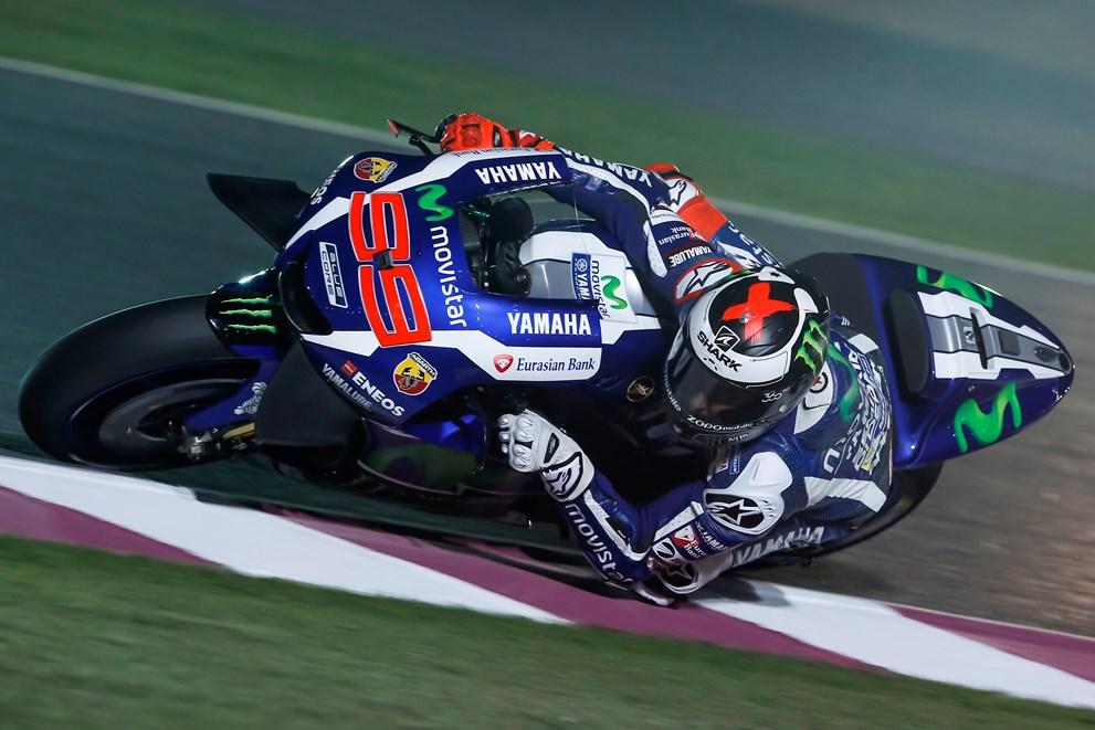 Libres (I) MotoGP GP de Qatar 2016: Lorenzo y Yamaha mandan