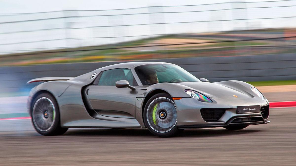 Te desmayarás: esto cuestan los recambios de un Porsche 918