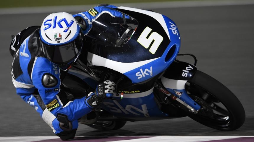 Clasificación Moto3 Qatar 2016: primera pole para Fenati