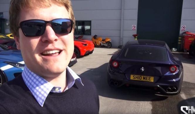 ¿Rayarías con una llave un Ferrari FF?