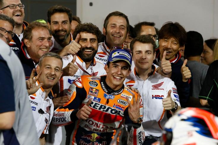 Marc Márquez cambia el chip: también sabe hacer podio