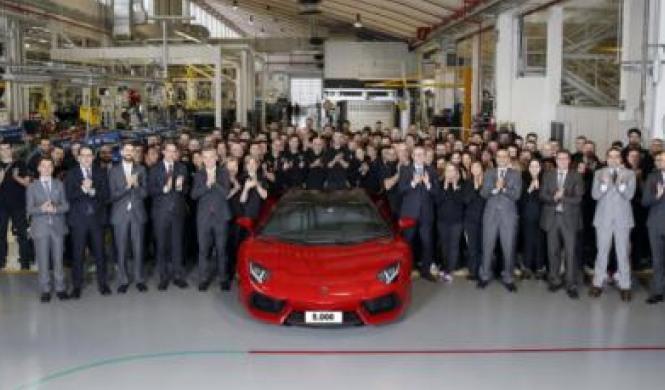 Producción del Lamborghini Aventador llega a 5.000 unidades