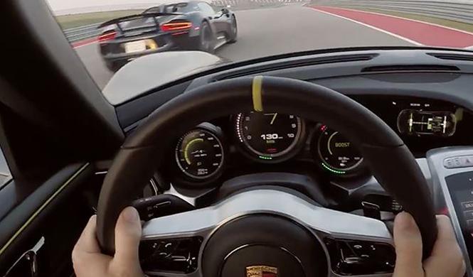 Ración doble de Porsche 918 Spyder