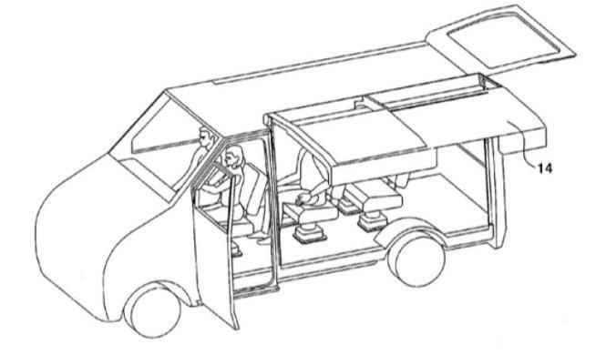 Las nuevas puertas 'ala de gaviota' patentadas de Hyundai