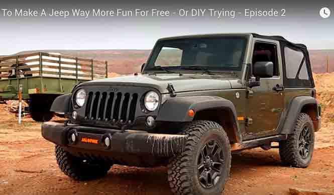 Vídeo: así se desviste a un Jeep Wrangler