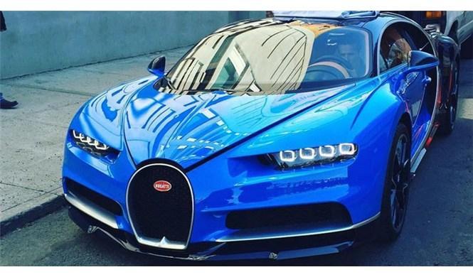 El nuevo Bugatti Chiron ha ido fotografiado en Nueva York