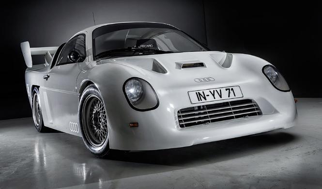 Audi inicia su tour de coches clásicos en Techno Classica