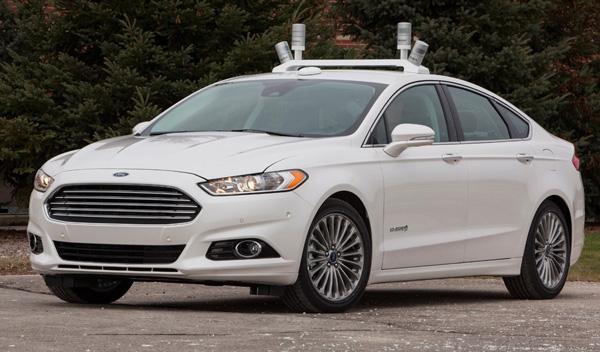 El Ford Mondeo autónomo, un laboratorio rodante