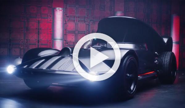 Hot Wheels crea un superdeportivo para Darth Vader