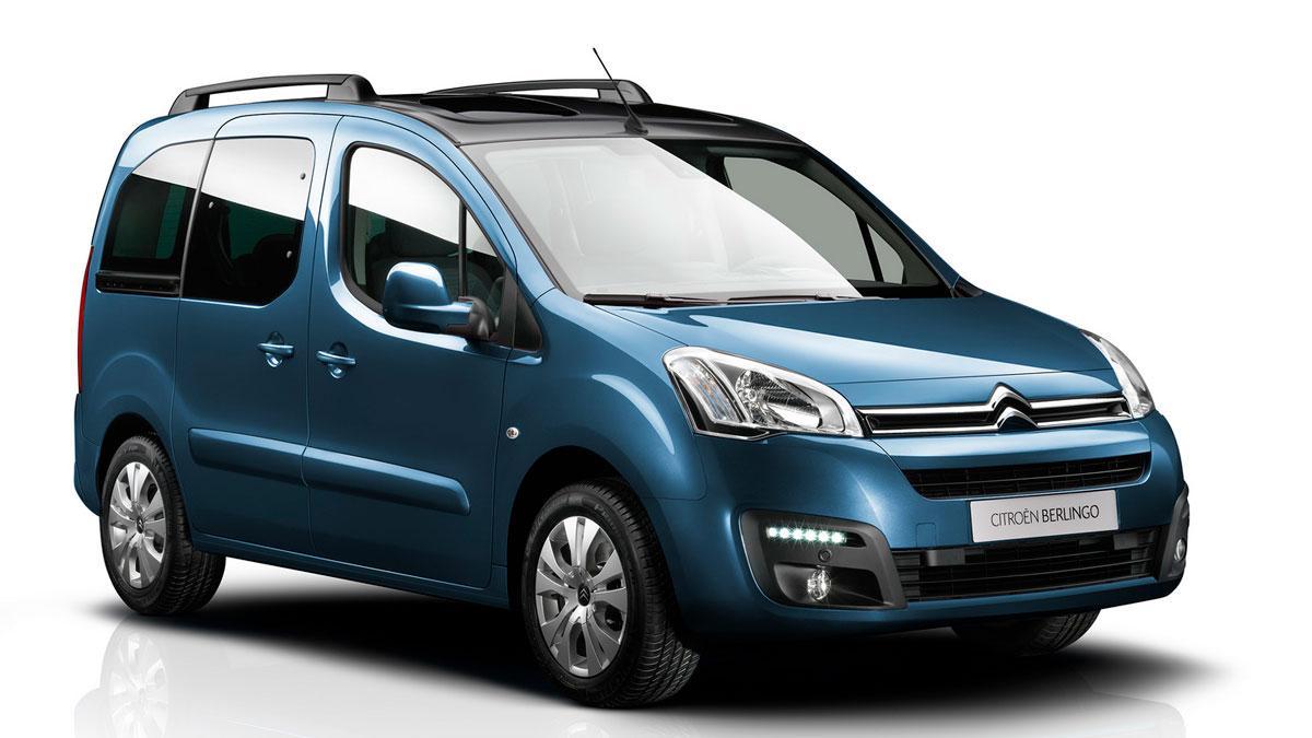 Citroën Berlingo 2015 tres cuartos delanteros