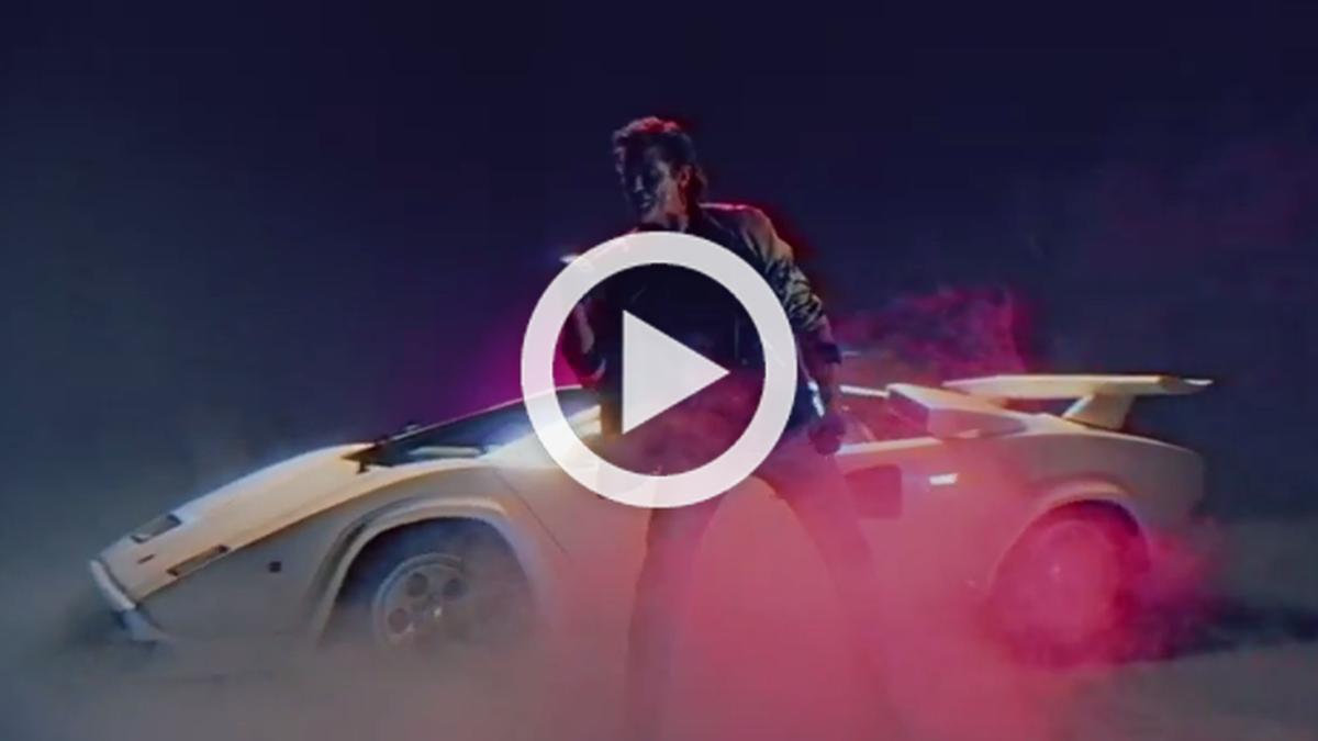 David Hasselhoff, vídeo viral con un Lamborghini Countach