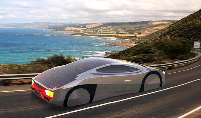 Immortus, ¿el primer coche deportivo solar del mundo?