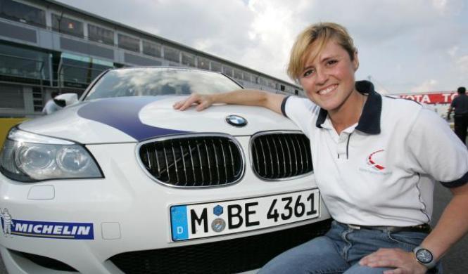 La piloto que quiere fichar el nuevo Top Gear