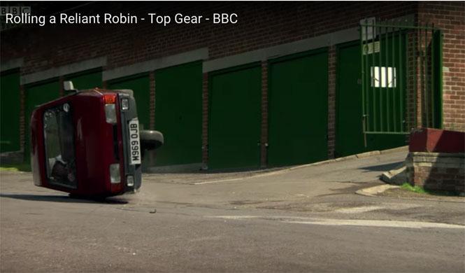 Clarkson confiesa: el Reliant Robin no volcaba fácilmente