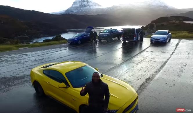 Mustang y drones, así es el primer capítulo de Top Gear