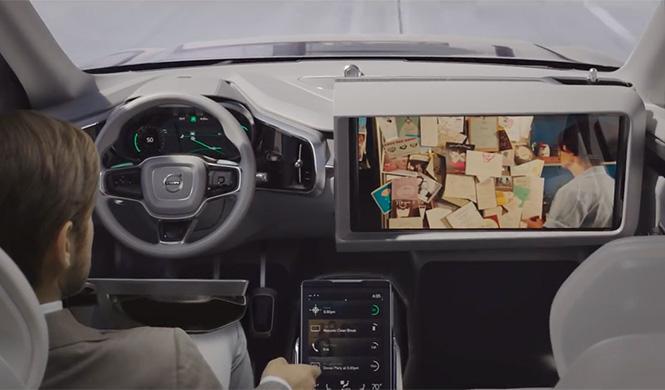 Los clientes de Volvo conducirán coches autónomos en 2017