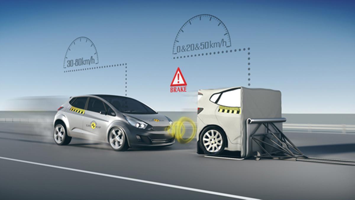 Freno automático de emergencia, obligatorio en EEUU en 2022