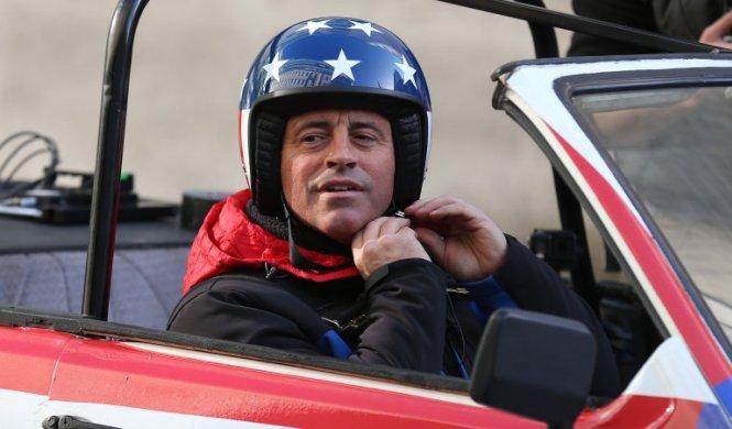Matt LeBlanc evita una tragedia en el rodaje de Top Gear