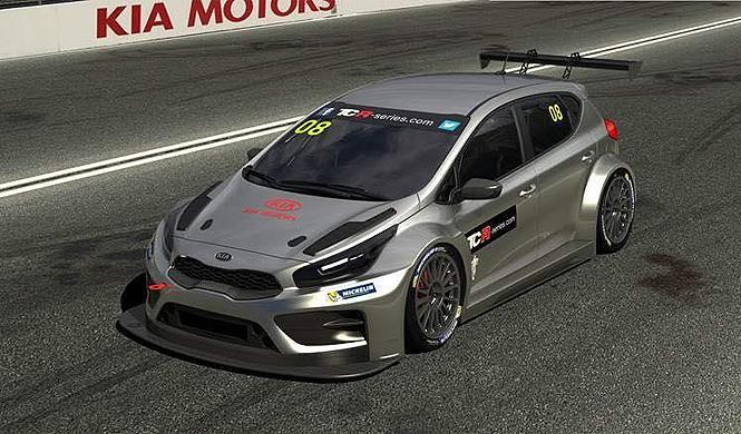 El Kia cee'd TCR Series se descubre por primera vez
