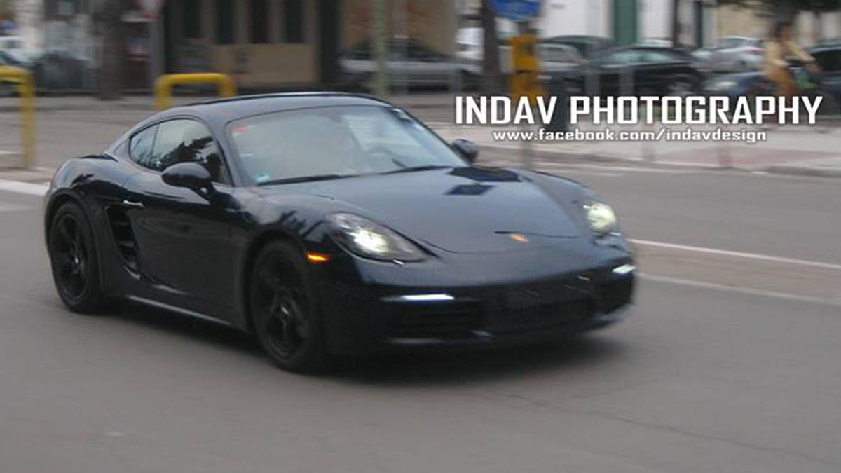 Porsche 718 Cayman S cazado
