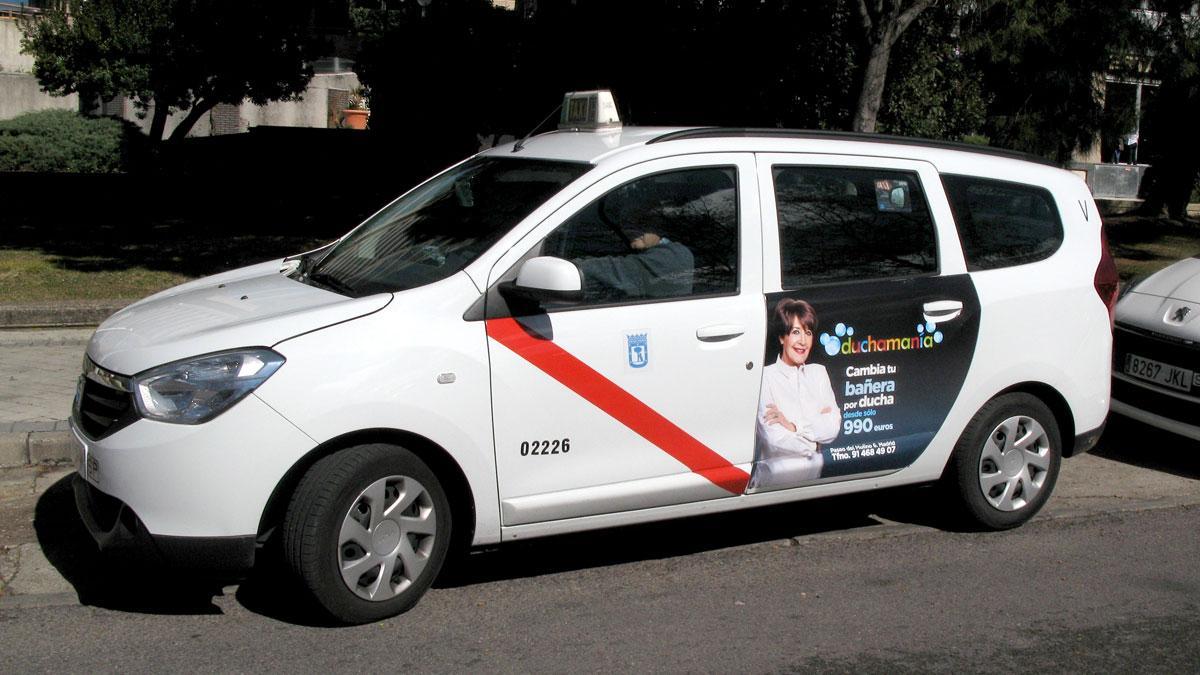 dacia lodgy taxi
