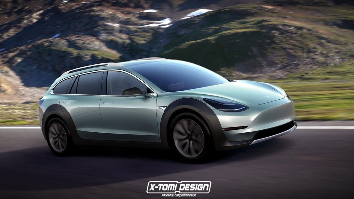 Tesla Model 3 crosswagon