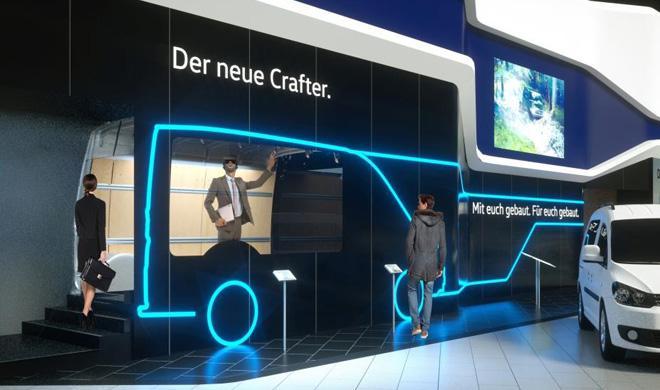 Volkswagen muestra el Crafter 2017 en realidad virtual